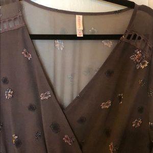 Xhilaration Dresses - Xhiliration bohemian floral dress size M